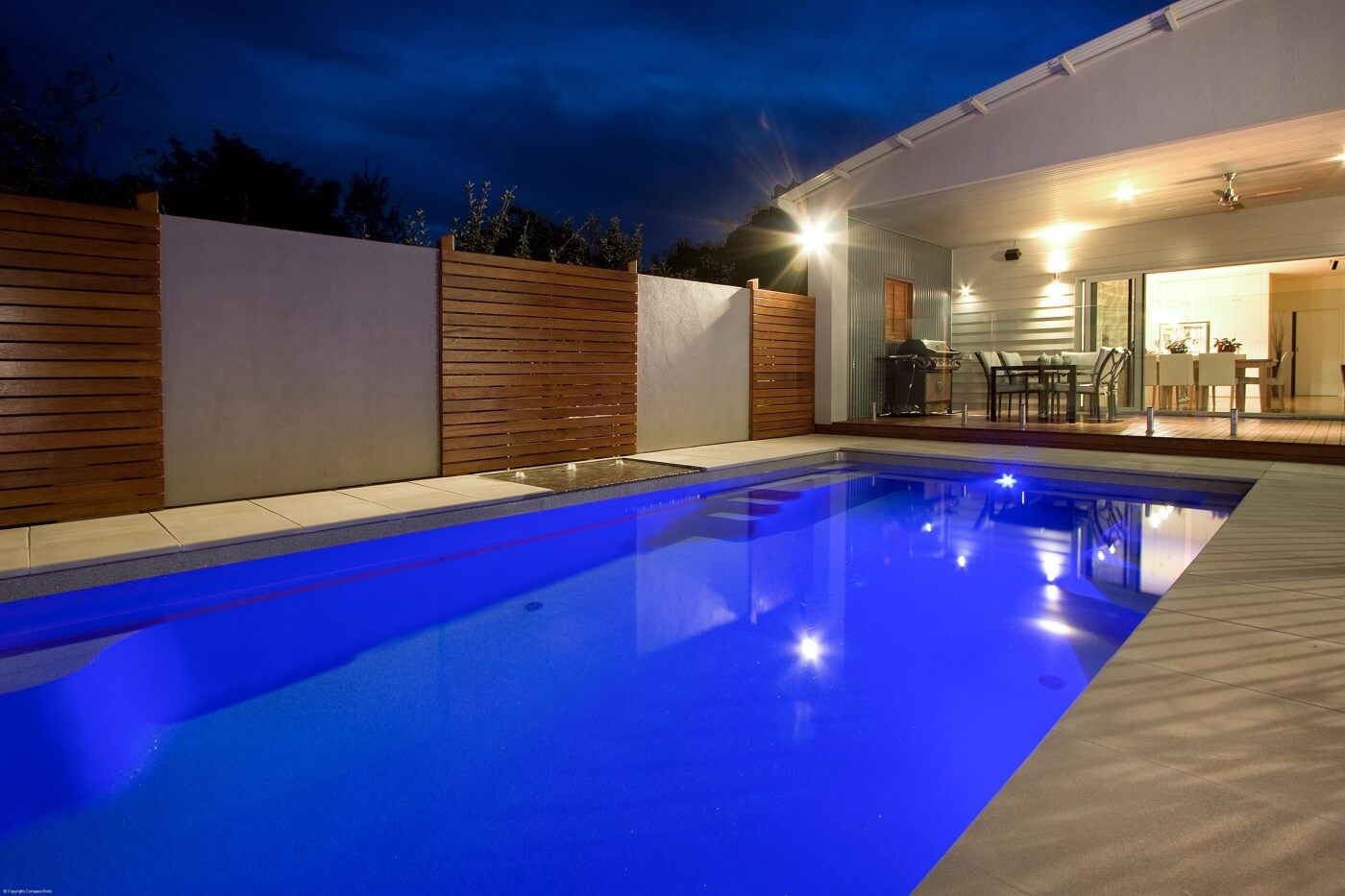 Light Up Your Pool With Pool Lighting Compass Pool