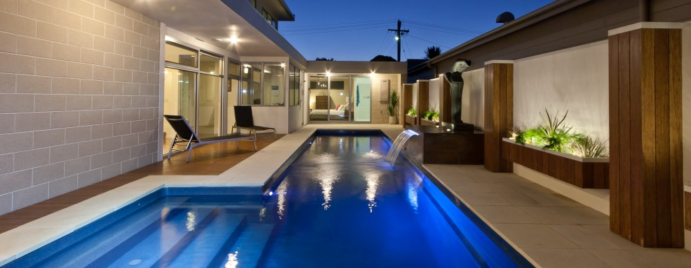 Building beautiful and smart fibreglass lap pools